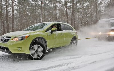 Subaru XV Crosstrek Hybrid, the winter rescue vehicle