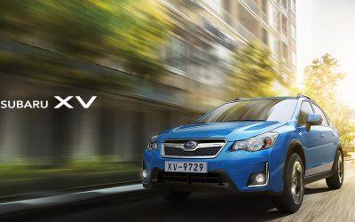 Subaru XV spot filmat in România
