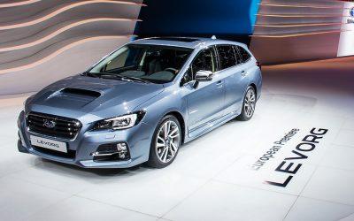 Crash test – Subaru Levorg
