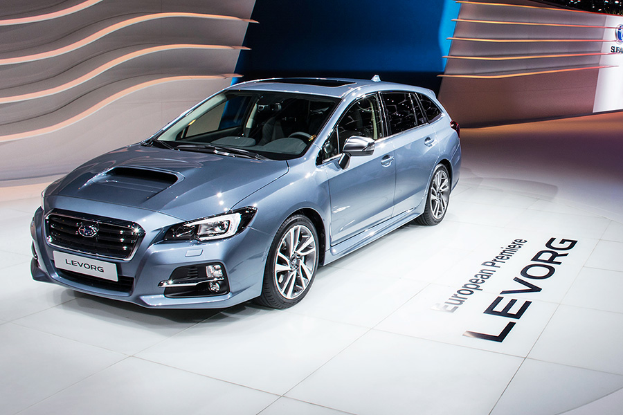 Crash test – Subaru Levorg